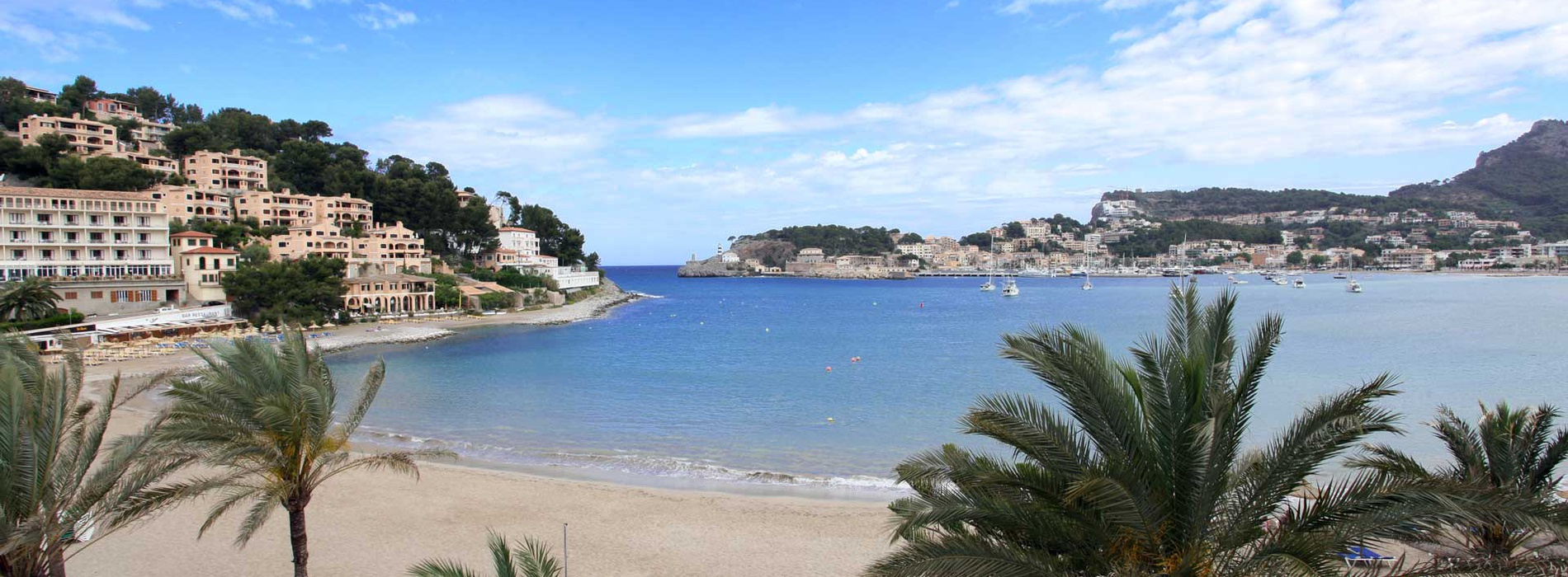 Views of the Port of Soller