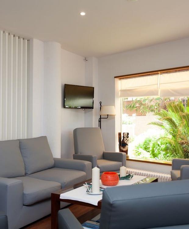 Living room Los Geranios Hotel