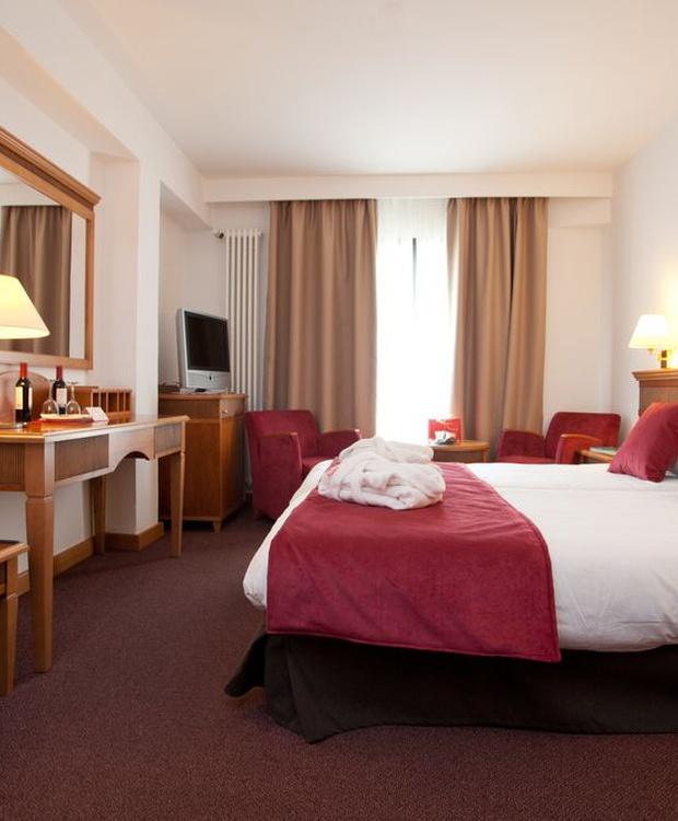 Double comfortable room Los Geranios Hotel